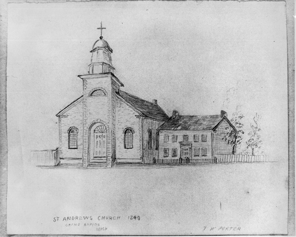 1849 church drawing